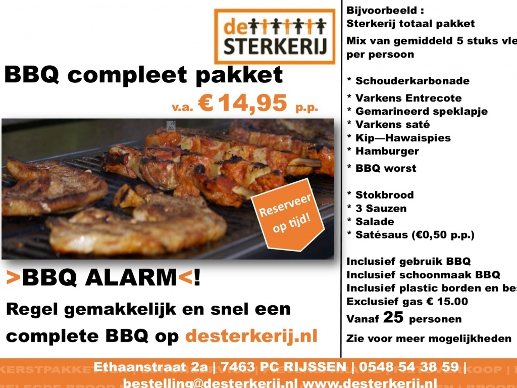 Vergroot de foto van de BBQ Alarm Compleet