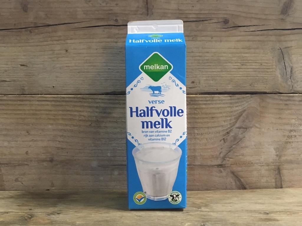 Vergroot de foto van de Liter halfvolle melk