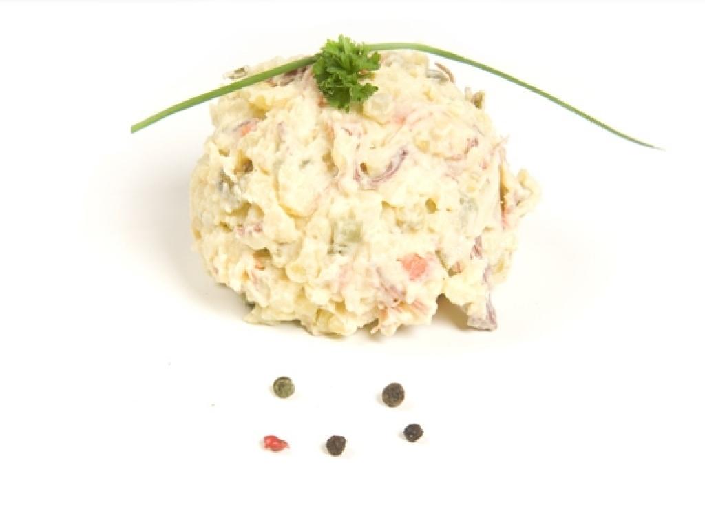 Vergroot de foto van de Twentse vlees salade