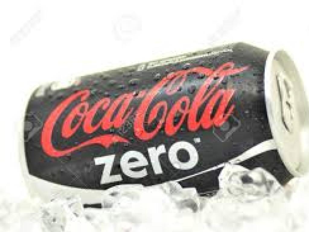 Vergroot de foto van de Coca Cola Zero
