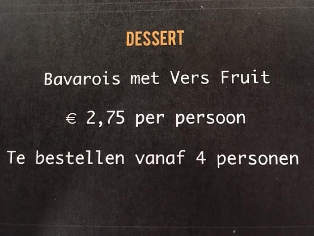 Vergroot de foto van de Dessert