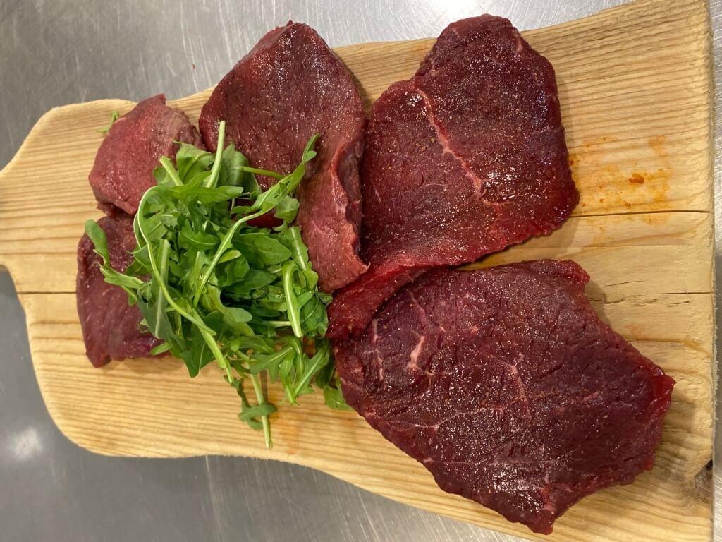 Vergroot de foto van de Gemarineerde biefstuk