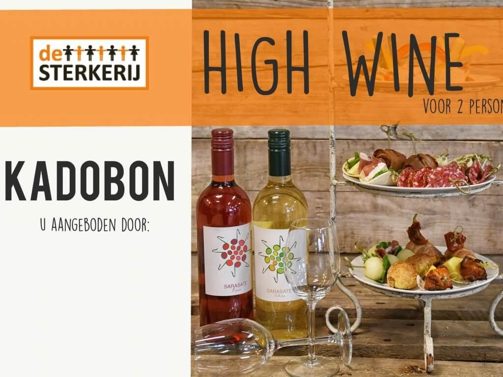 Vergroot de foto van de Waardebon High Wine (vanaf 2 personen)