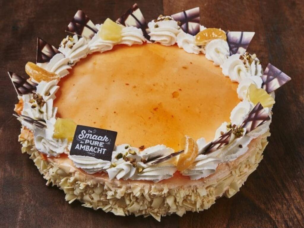 Vergroot de foto van de Bavaroisetaart sinaasappel