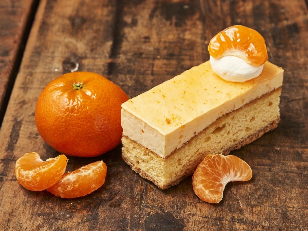 Vergroot de foto van de Sinaasappel gebakje