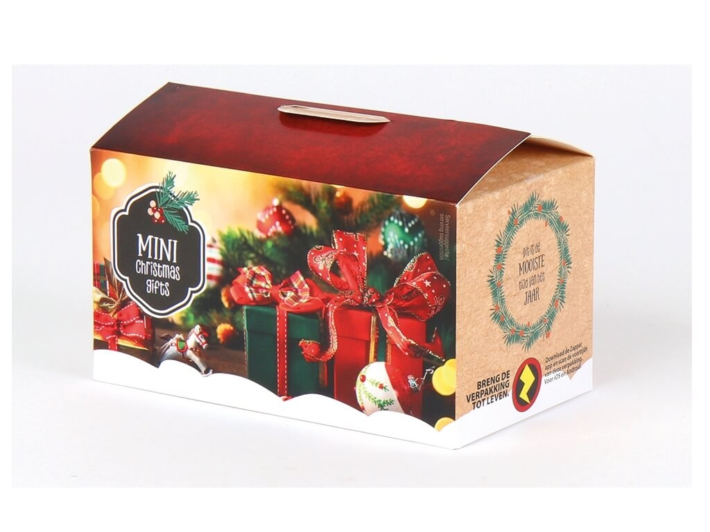 Vergroot de foto van de Mini kerstpakketje 5,45 - 431