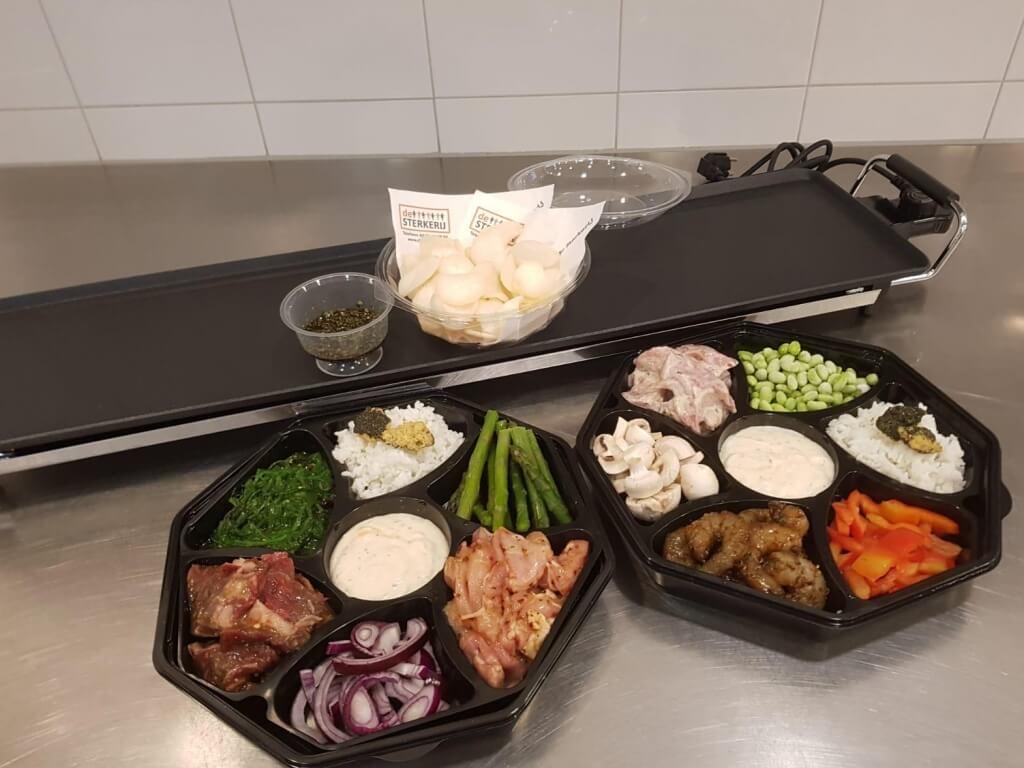 Vergroot de foto van de Teppanyaki Oosters buffet
