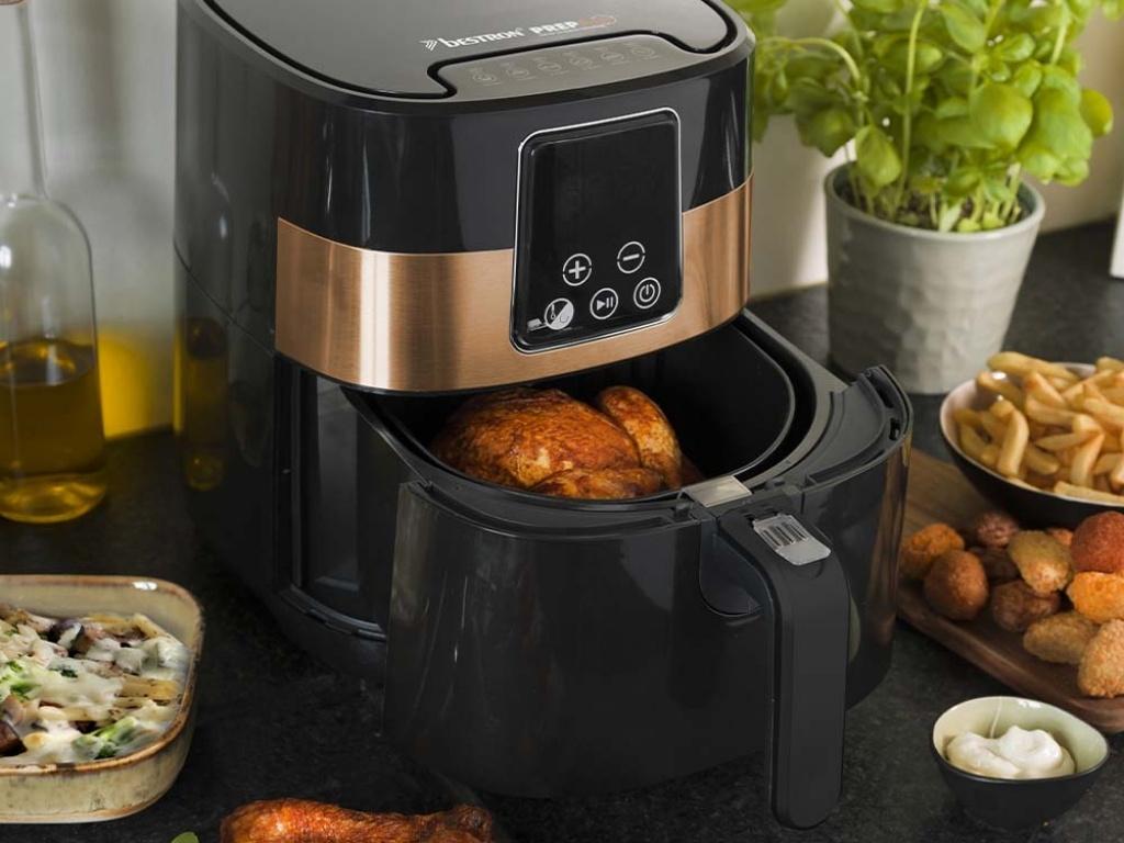Vergroot de foto van de Hot Air cooking