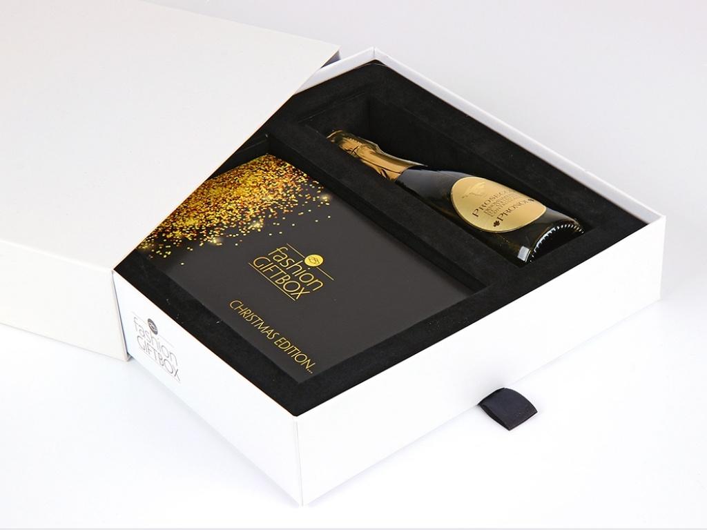 Vergroot de foto van de Fashion giftbox Shop & Lunch