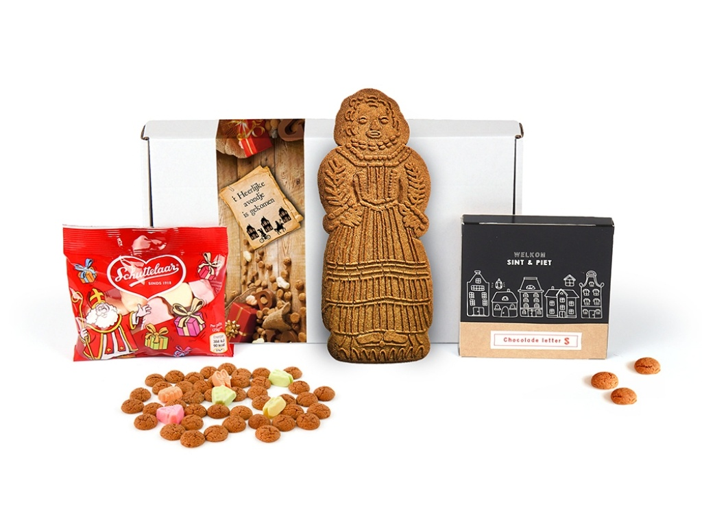 Vergroot de foto van de Sinterklaas door je brievenbus?