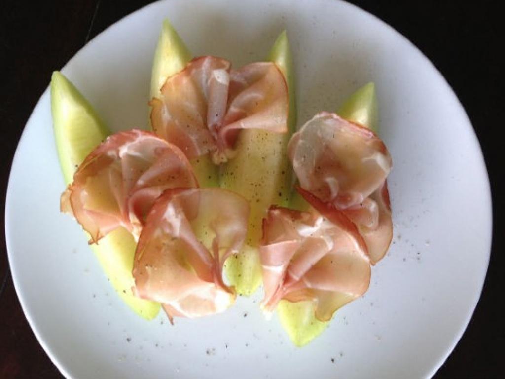 Vergroot de foto van de Meloen met Ham