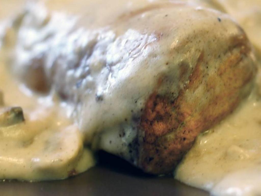 Vergroot de foto van de Varkenshaas in champignonsaus