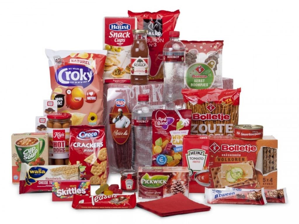 Vergroot de foto van de Rode merken