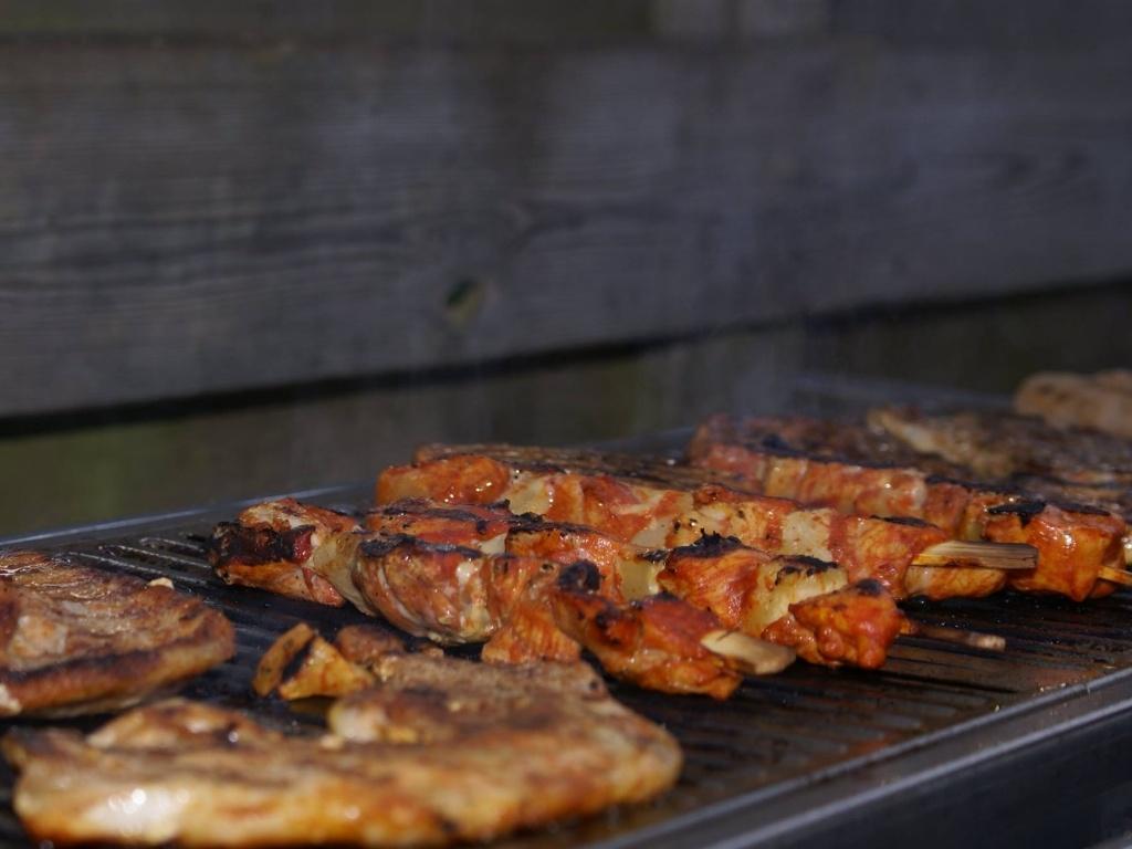 Vergroot de foto van de BBQ