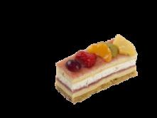 Foto van Vruchtencake gebakje
