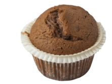 Foto van Chocolade muffin