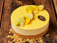 Foto van  Mango limoen taartje pasen