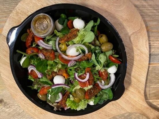Foto van Maaltijdsalade vegetarisch