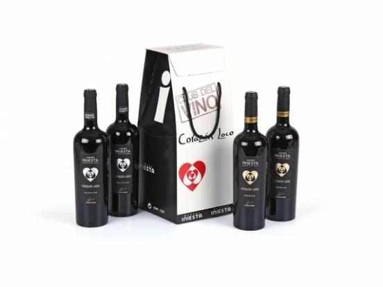 Foto van Iniesta wijngeschenk 4 flessen
