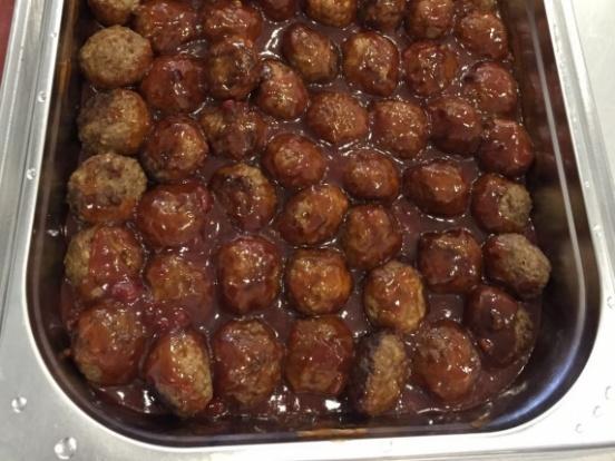 Foto van Gehaktballetjes in saus
