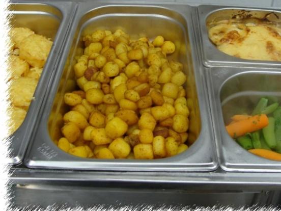 Foto van  Gebakken aardappeltjes