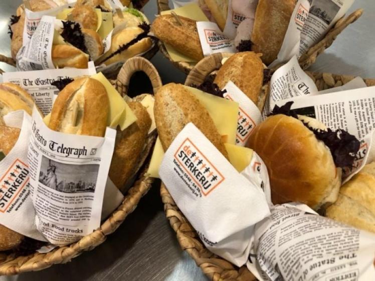 Foto van Luxe ontbijt - buffet voor de Brandweer